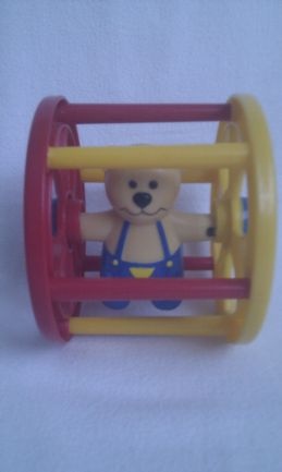 Adorable My 1st Baby Roll Along Teddy Wheel